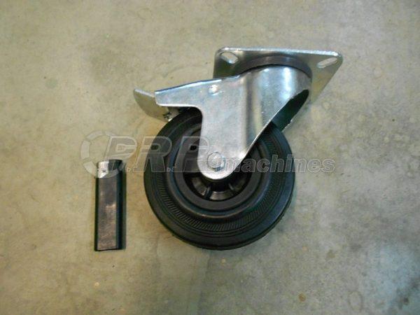 2x Roues orientables Ø125mm pour servante a outil