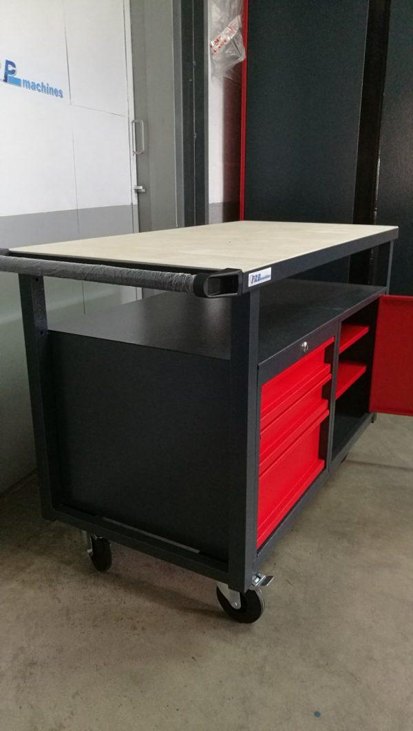 Établi d'atelier mobile 120cm