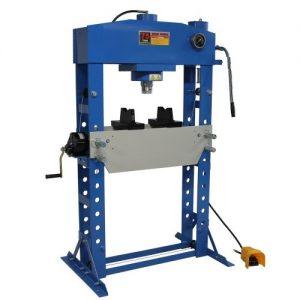 Presse d'atelier hydraulique 75T hydropneumatique