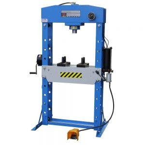 Presse d'atelier hydraulique 50T hydropneumatique