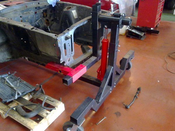 Rotissoire auto restauration