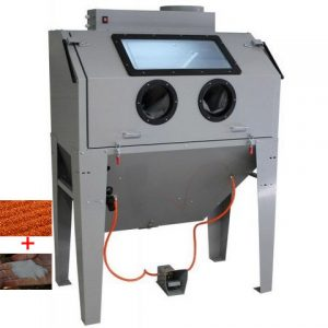 Cabine de sablage 420L + 50kg d'abrasif - PF