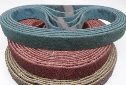 Bandes nylon brossage ponceuse 760x40 mm (x3pc)