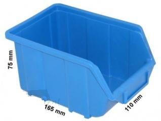 Bacs de rangement x 35pcs - bleu