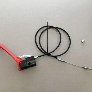 Poignée embrayage+cable mini dumper