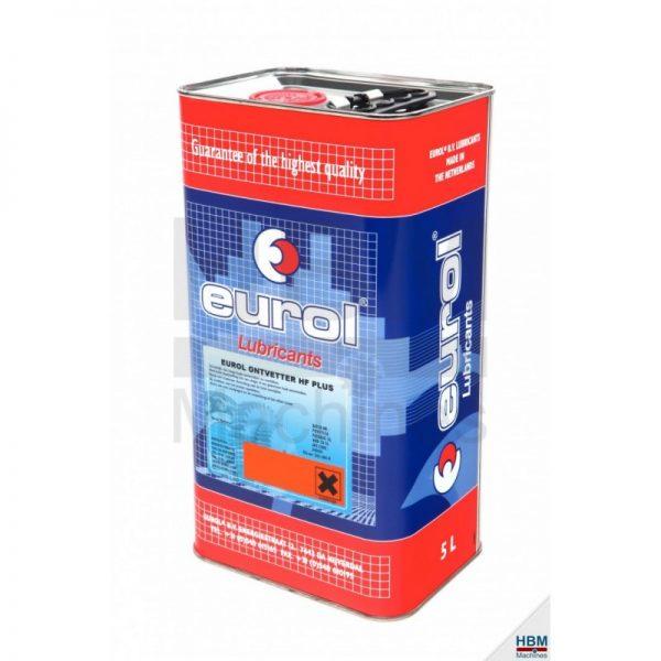 Dégraissant pour fontaine de lavage Eurol HF Plus - 5L