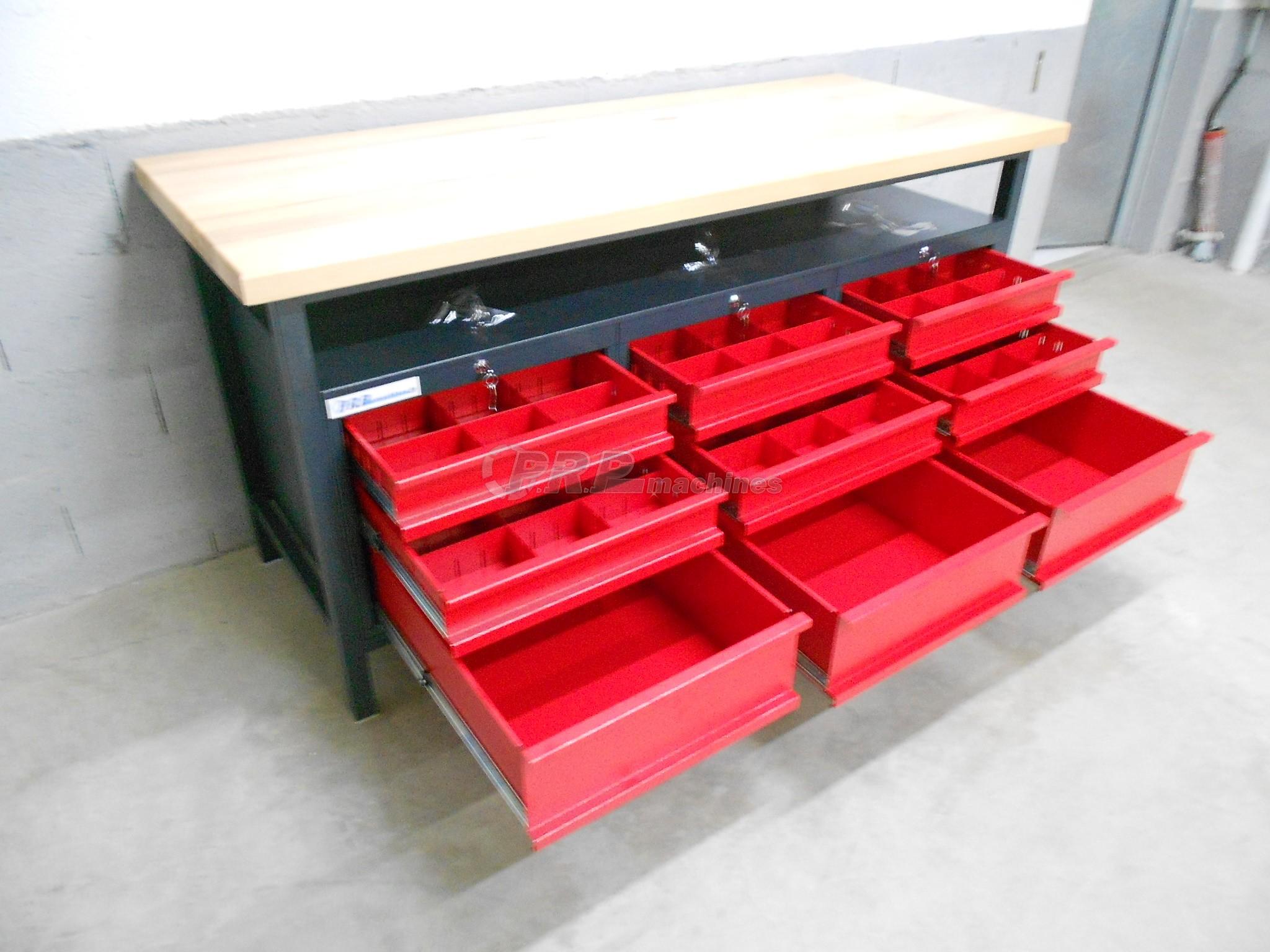 tabli d 39 atelier pro 1700mm 9 tiroirs 2. Black Bedroom Furniture Sets. Home Design Ideas