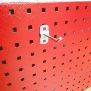 Panneau porte outils 120cm pour établi rouge