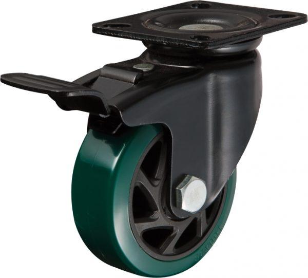 Roue orientable avec frein Ø100mm