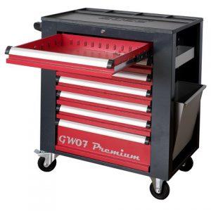 Servante garage 7 tiroirs - 3 Accessoires